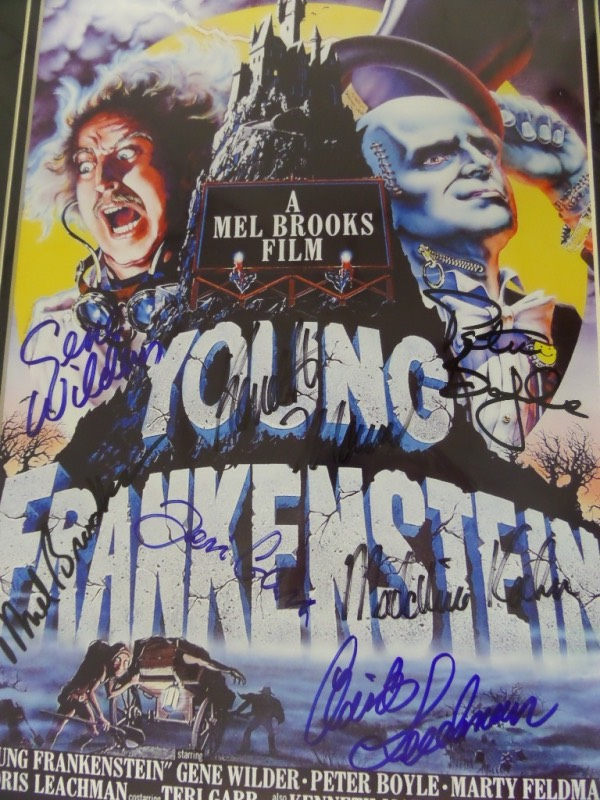 Young frankenstein movie poster tshirt
