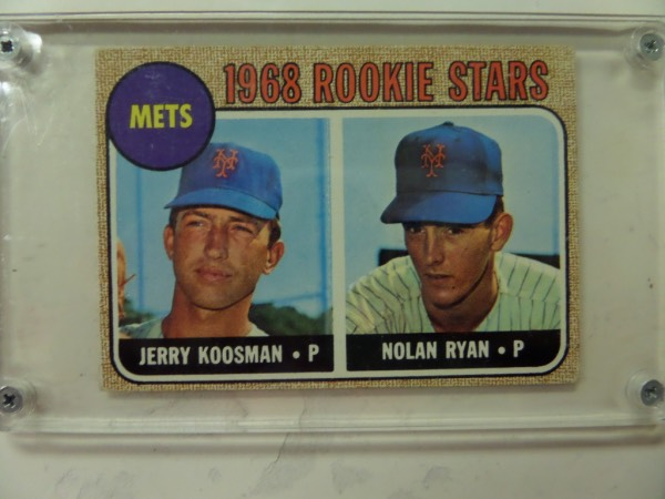 Coachs Corner 1968 Topps Nolan Ryan Rookie Baseball Card 177